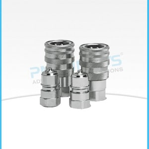 Stainless steel High Performance Poppet Type Couplings