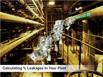 CALCULATING % LEAKAGES IN YOUR PLANT