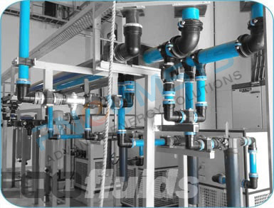 Compressed Air Piping >> Aluminium Compressed Air Piping System Pneumatic Tube Fitting