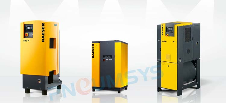 KAESER Rotary Screw Compressor With Fluid Cooling